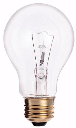 Picture of SATCO S3940 25W A19 CLEAR Standard BULB 130V Incandescent Light Bulb
