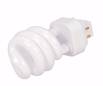 Picture of SATCO S4440 PLS18 2700K SPIRAL GX24Q-2 Compact Fluorescent Light Bulb