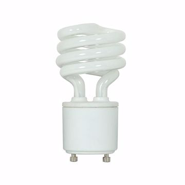 Picture of SATCO S5302 18T2/GU24/2700K/120V/1BL Compact Fluorescent Light Bulb