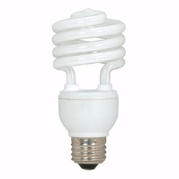 Picture of SATCO S5523 18T2/E26/2700K/120V/1BL Compact Fluorescent Light Bulb