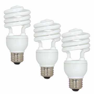 Picture of SATCO S5543 18T2/E26/5000K/120V/3BL Compact Fluorescent Light Bulb