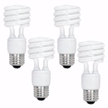 Picture of SATCO S5549 13T2/E26/5000K/120V/4BL Compact Fluorescent Light Bulb