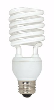 Picture of SATCO S6274 23T2/E26/2700K/120V/3PK Compact Fluorescent Light Bulb