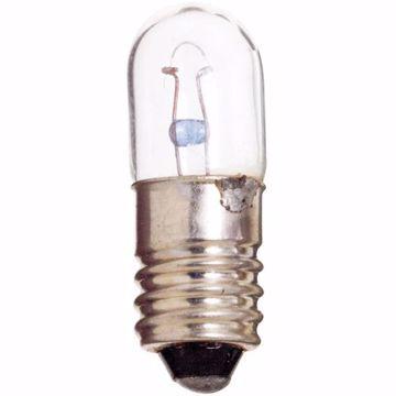Picture of SATCO S6908 40 6.3V 1W E10 T3.25 C2R Incandescent Light Bulb