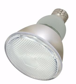 Picture of SATCO S7206 15PAR30/E26/5000K/120V/1PK Compact Fluorescent Light Bulb
