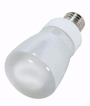 Picture of SATCO S7258 5R20/E26/4100K/120V/1PK Compact Fluorescent Light Bulb