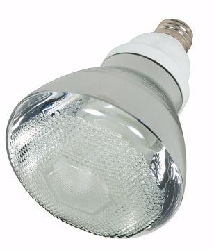 Picture of SATCO S7274 23BR38/E26/2700K/120V/1PK Compact Fluorescent Light Bulb