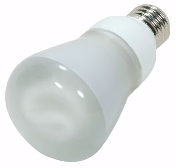Picture of SATCO S7403 13R20/E26/5000K/120V/1PK Compact Fluorescent Light Bulb
