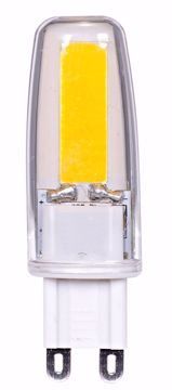 Picture of SATCO S8602 LED 4W G9 120V 3000K DIM LED Light Bulb