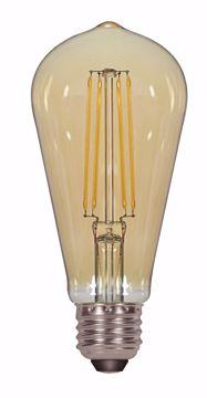 Picture of SATCO S8612 4.5ST19/AMB/LED/E26/22K/120V LED Light Bulb