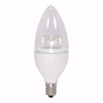 Picture of SATCO S8952 4.5CTC/LED/3000K/E12/120V LED Light Bulb