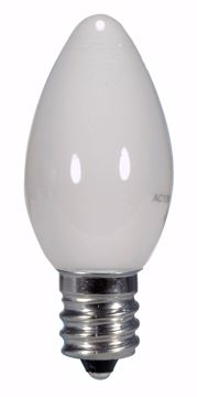 Picture of SATCO S9157 0.5W C7/WH/LED/120V/CD LED Light Bulb