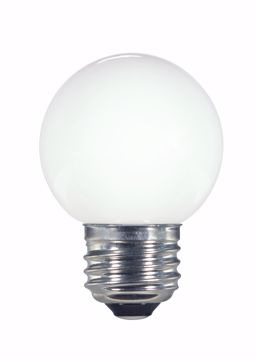 Picture of SATCO S9159 1.4W G16.5/WH/LED/120V/CD E26 LED Light Bulb