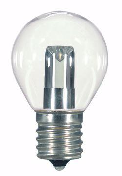Picture of SATCO S9167 1.0W S11/CL/LED/E17/120V/CD LED Light Bulb