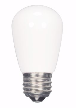 Picture of SATCO S9175 1.4W S14/Frosted/LED/120V/CD LED Light Bulb