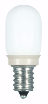 Picture of SATCO S9176 0.8W T6/Frosted/LED/120V/CD LED Light Bulb
