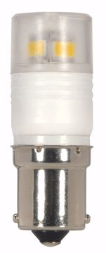 Picture of SATCO S9222 LED 2.3W BA15S 3000K LED Light Bulb