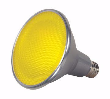 Picture of SATCO S9484 15PAR38/LED/40'/YELLOW/120V LED Light Bulb
