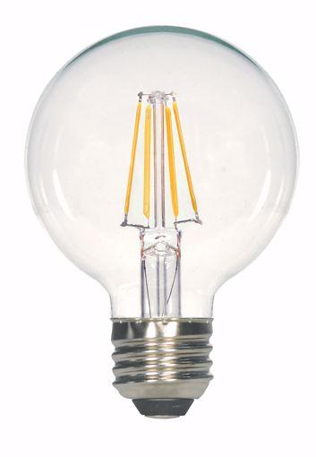 Picture of SATCO S9564 6.5G25/CL/LED/E26/27K/120V LED Light Bulb