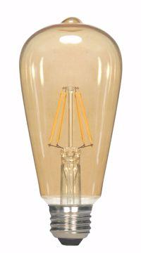 Picture of SATCO S9578 4.5ST19/AMB/LED/E26/23K/120V LED Light Bulb