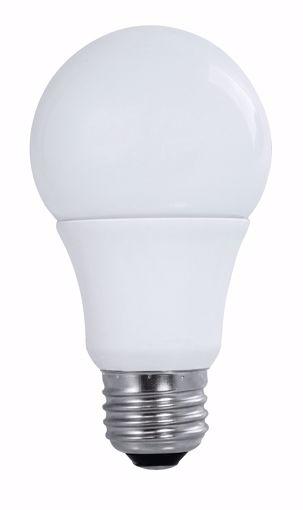 Picture of SATCO S9589 10A19/LED/3000K/120V/4PK LED Light Bulb