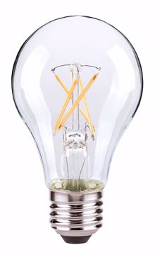 Picture of SATCO S9876 7A19/CL/LED/E26/27K/ES/120V LED Light Bulb