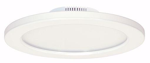 """Picture of SATCO S9882 12W/LED/7""""FLUSH/3K/WH/SL LED Light Bulb"""