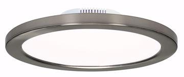 "Picture of SATCO S9883 12W/LED/7""FLUSH/3K/BN/SL LED Light Bulb"