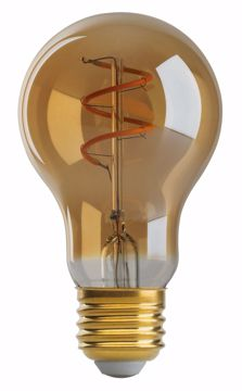 Picture of SATCO S9966 4A19/SPIRAL/LED/AMB/120V LED Light Bulb